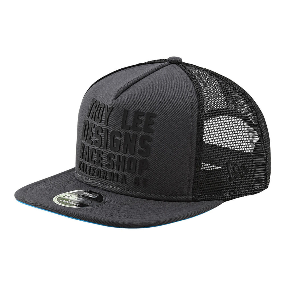 TROY LEE DESIGNS TLD HAT RC CALI SNAP BACK Graphite/Blue OS