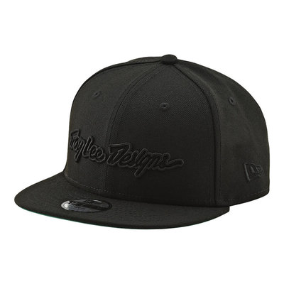 TROY LEE DESIGNS TLD HAT CLASSIC SIGNATURE SNAP BACK Black OS