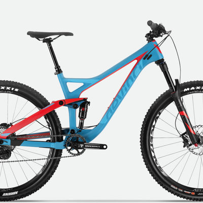 DEVINCI 2017 DEVINCI DJANGO CARBON CUSTOM Blue/Red L