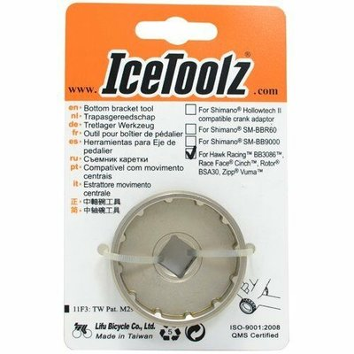 ICETOOLZ 12 NOTCH BOTTOM BRACKET CUP TOOL