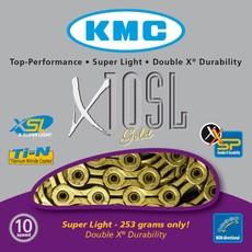 KMC KMC CHAIN 10SPD X10SL TI-N GOLD