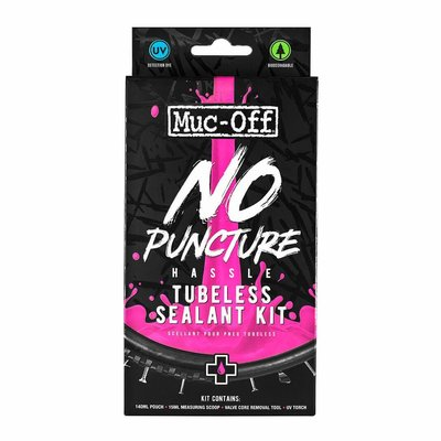 MUC-OFF MUC-OFF TUBELESS SEALANT KIT NO PUNCTURE HASSLE 140ml