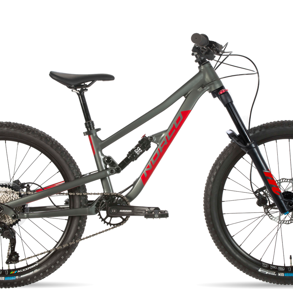 NORCO NORCO FLUID FS2 24 Grey/Red