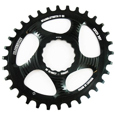 BLACKSPIRE BLACKSPIRE CHAINRING SNAGGLETOOTH 1x NW RF CINCH Oval