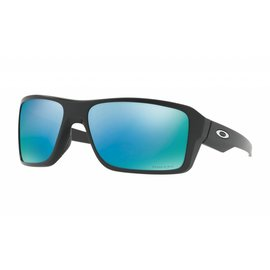 Oakley Canada Double Edge Matte Black w/ Prizm Deep Water Polarized