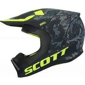 Scott SCOTT 550 CAMO ECE BLK/YEL XL