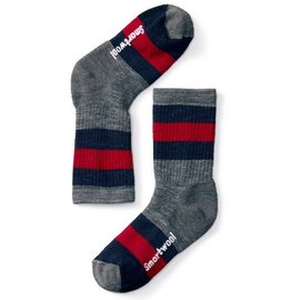 SMARTWOOL Kid's Stripe Hike Medium Crew
