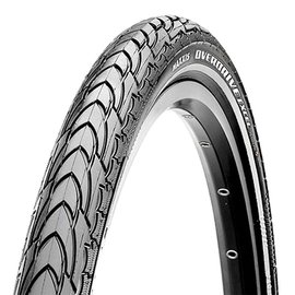 Maxxis Maxxis, Overdrive Excel, Tire, 26''x2.00, Wire, Clincher, Dual, SilkShield, 60TPI, Black