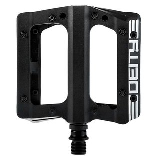 Deity Deity, Compound, Platform Pedals, Body: Nylon, Spindle: Cr-Mo, 9/16'', Black, Pair