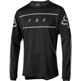 FOX CANADA FLEXAIR LS FINE LINE JERSEY [BLK] M