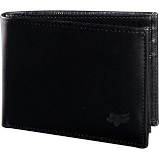 BIFOLD LEATHER WALLET [BLK] NS