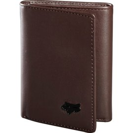 FOX CANADA TRIFOLD LEATHER WALLET [BRN] NS