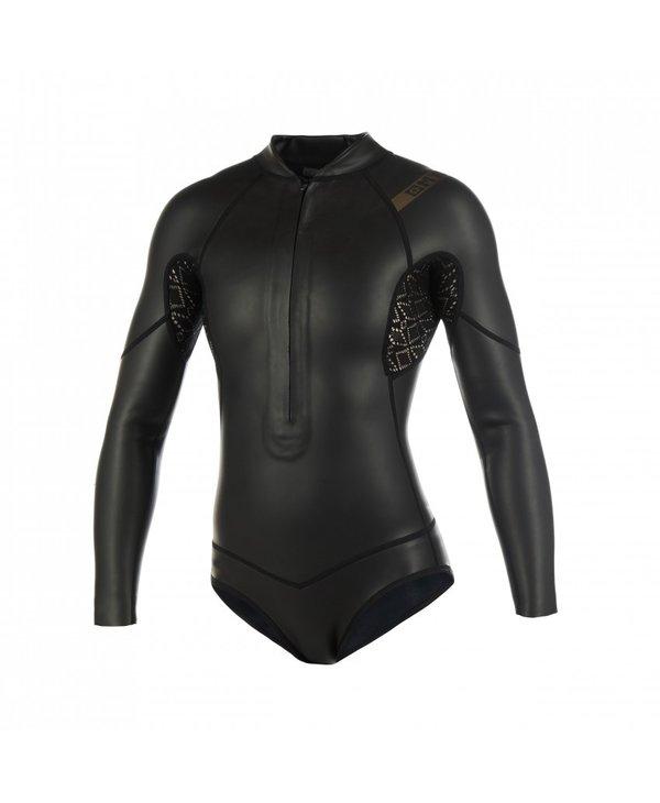 Diva black series Longarm super shorty front-zip (3/2) M