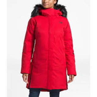 THE NORTH FACE TNF W DEFDOWN PARKA GTX RED large