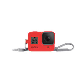 GoPro SLEEVE + LANYARD (HERO8 BLACK) FIRECRACKER RED