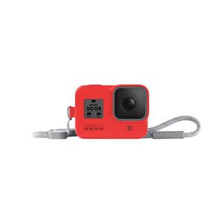 GoPro SLEEVE + LANYARD (HERO8 BLACK) FIRECRACKER RED