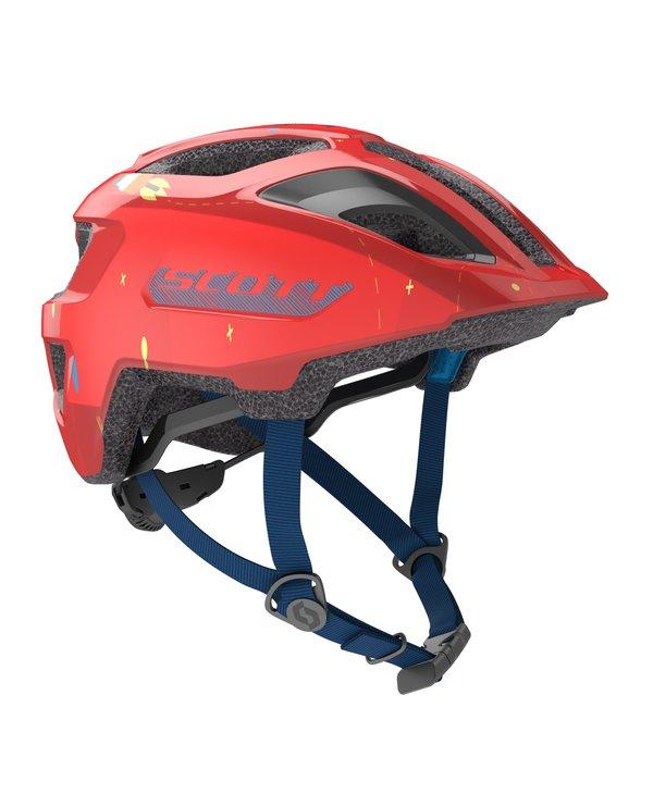 SCO Helmet Spunto Kid (CE) fiery red 1size
