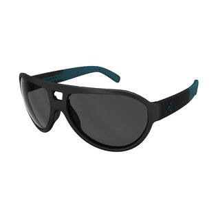 Ryders HILINE POLAR MATTE BLACK - BLUE / GREY LENS