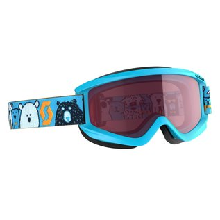 Scott SCO Goggle Jr Agent blue enhancer