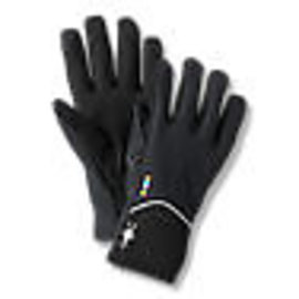 SMARTWOOL Merino Sport Fleece Wind Training Glove BLACK S