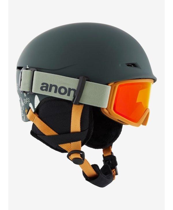 Kid's Define Helmet/Goggle PKG PB Gray s/m