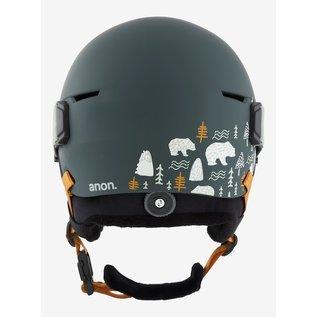 ANON Kid's Define Helmet/Goggle PKG PB Gray s/m