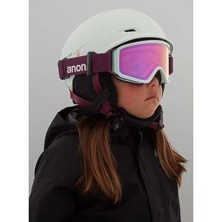 ANON Kid's Define Helmet/Goggle PKG Flowers Green l/xl