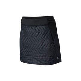 MOUNTAIN HARDWR Women's Trekkin Insulated Mini Skirt Black L