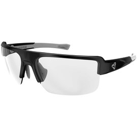 Ryders SEVENTH POLY BLACK-GREY / CLEAR LENS ANTI-FOG