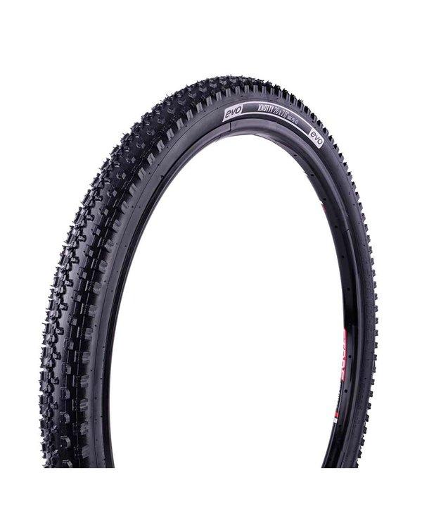 EVO, Knotty, Tire, 27.5''x2.10, Wire, Clincher, Black