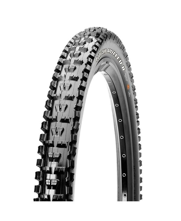 Maxxis, High Roller II, Tire, 27.5''x2.30, Folding, Tubeless Ready, 3C Maxx Terra, EXO, 60TPI, Black