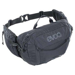 EVOC EVOC, Hip Pack 3L + 1.5L Bladder, Hydration Bag, Volume: 3L, Bladder: Included (1.5L), Black