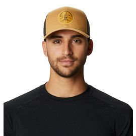 MOUNTAIN HARDWR Secret Stash Trucker Hat Olive Gold