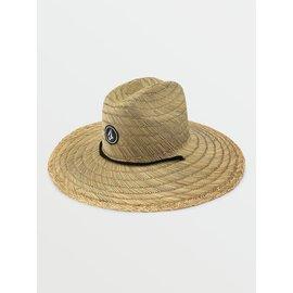 VOLCOM Quarter Straw Hat Natural
