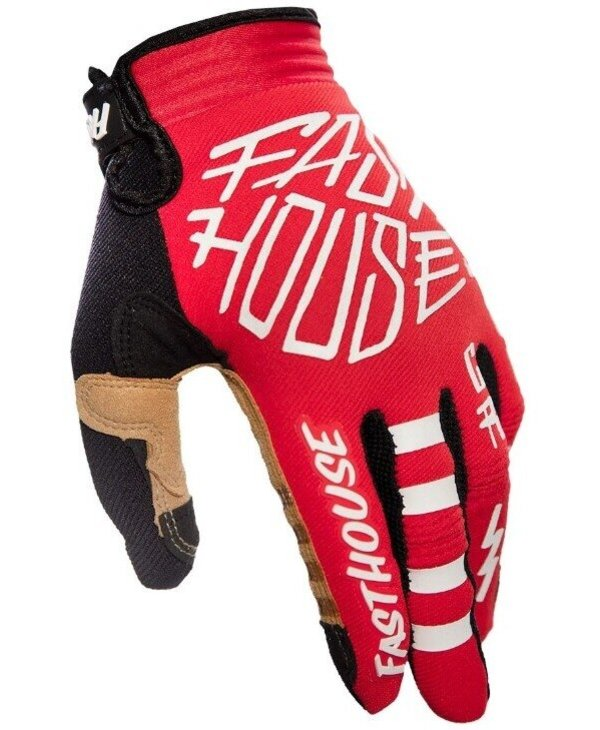 SPEED STYLE STOMP GLOVE, RED Small