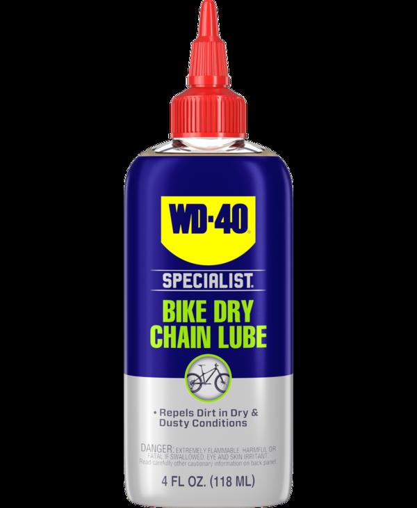 WD-40 Bike, Dry, Chain lubricant, 118ml