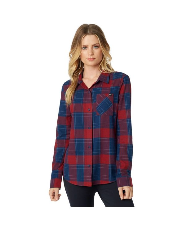 Fox Kick-It L/S Flannel