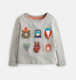 Joules Joules Animals Top