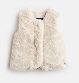 Joules Joules Martha Faux Fur Vest