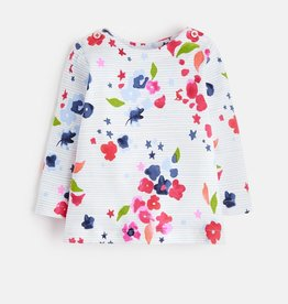 Joules Joules Floral Stripe Top