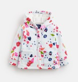 Joules Joules Floral Stripe Jacket with Hood