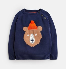 Joules Joules Bear Intarsia Sweater