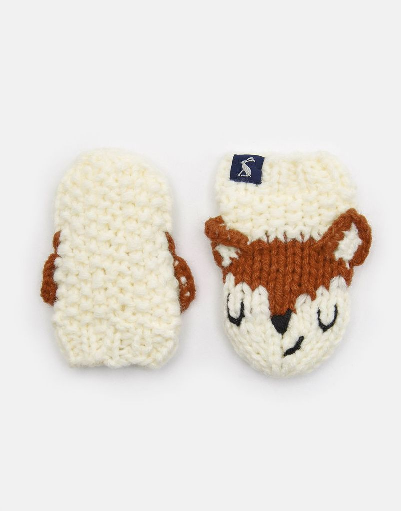 Joules Joules Chummy Fox Mittens