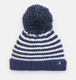 Joules Joules Striped Bobble Hat