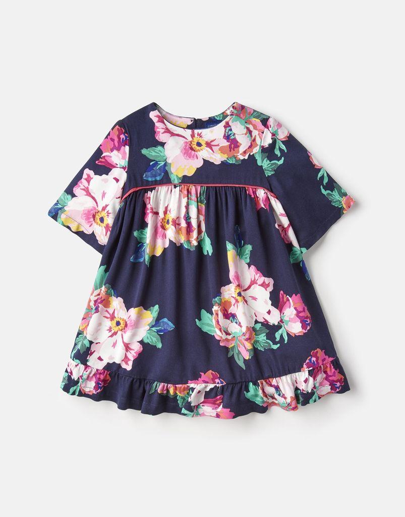 Joules Joules Adaline Woven Peplum Frill Dress