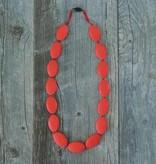 Summer Lulu Summer Lulu Oval Teething Necklace *more colors*