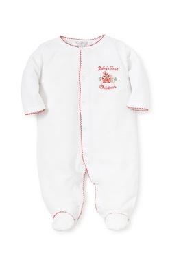 e4d281db0 Kissy Kissy Baby Pajamas | Baby's First Christmas Pajamas