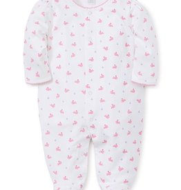 kissy kissy Kissy Kissy Whales Printed Footie *more colors*