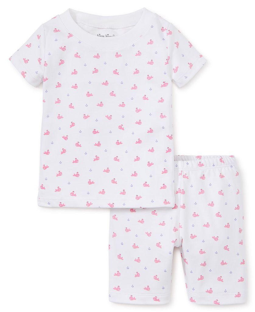 kissy kissy Kissy Kissy Whales Printed Short Pajama Set *more colors*