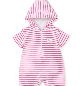 kissy kissy Kissy Kissy Whales Terry Stripe Romper *more colors*